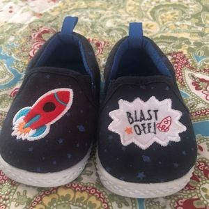 Other - Blast Off Slip On Baby Shoes
